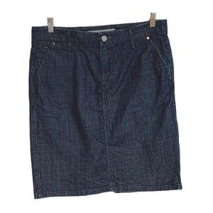 Joe's Jeans Denim Skirt size 27 Kitt Wash Dark